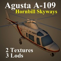 3d agusta hbs helicopter