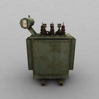 3d transformer model