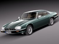 3d 3ds xjs coupe 1975 sport