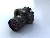 3d model canon 5d mark3 mark iii