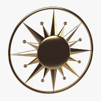 3d model celestial wall decor