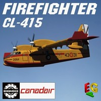 CL 415 FIREFIGHTER