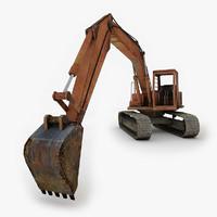 3dsmax excavator