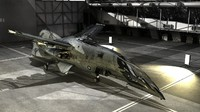 3d hornet aerospace fighter space