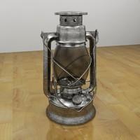 Oil Lantern Tin
