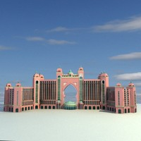 atlantis palm 1 3d 3ds