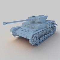 german 2 tank panzer iv max