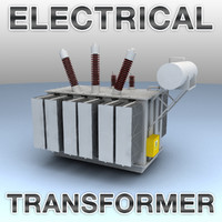 High Voltage Electrical Transformer