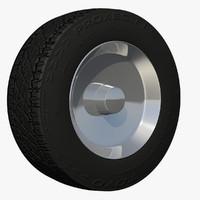 rim suv wheel uv 3d c4d