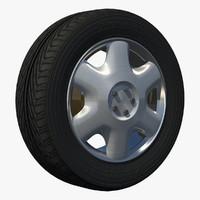 3d wheel sport rim uv