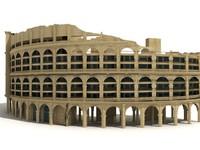 roman style building res 3d max