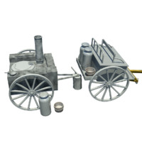 3d german field kitchen model
