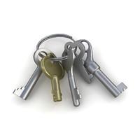 keys chain 3d max