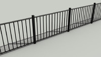 Iron Fence Bars