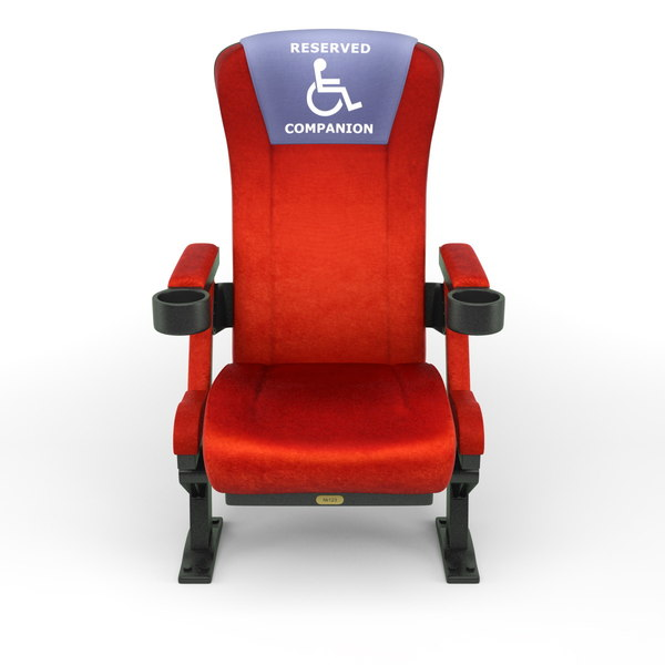 3dsmax realistic seat cinemas - Realistic Cinema Seats... by RenderStuff