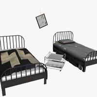 WW2 Medical Bed Scene