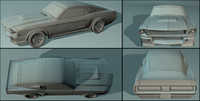 free 3ds mode car fastback 1967