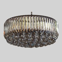 3d chandelier glass model