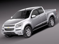 3d chevrolet colorado 2012 pickup model