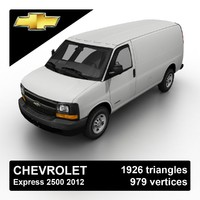 2012 chevrolet express 2500 3ds
