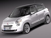 Fiat 500L USA-version 2013