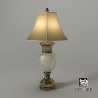 3d model of fine art lamps