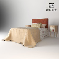 3ds max vittorio grifoni bed