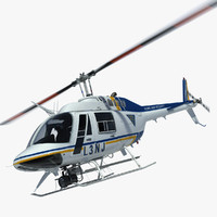 3d bell helicopter homeland security model