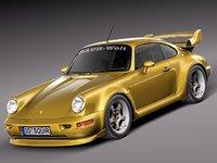 3ds porsche 911 964 1990