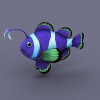 fish 3d max