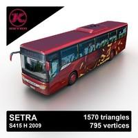 3d model 2009 setra s415 h