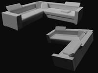 sofa desoint 3d model