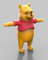 character winnie pooh max