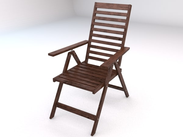 Ikea Applaro Outdoor Folding 3d Model