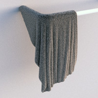 3ds max towels fluffy