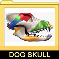Dog Skull 2 in 1