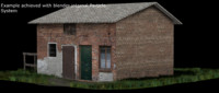 3dsmax barn house