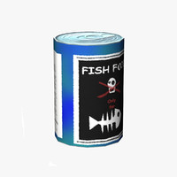 Fish Food Can