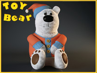 toy bear 3ds