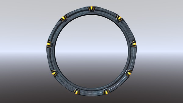 maya stargate sg1 lightwave - Stargate Star Gate Lightwave... by Eade