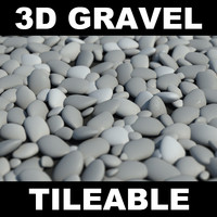 gravel 3d max