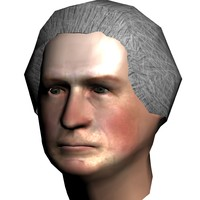 george washington 3d max