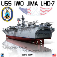 USS Iwo Jima LHD-7 & OSPREY-CH-53E Super Stallion-CH46-AV 8BS