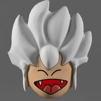 3d model kid mask