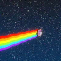 free blend mode nyan cat
