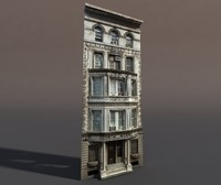 Apartment House #76 Low Poly Model
