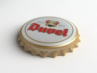 Duvel Beer Bottle Tin Cap