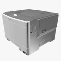 3dsmax printer lexmark c540