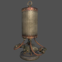 Steampunk Lamp 02