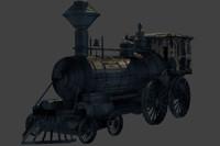 train western games 3d model